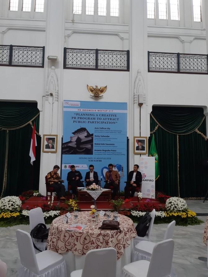 Dari PR Meet Up #17 Bandung:Apapun Programnya, Konten yang Utama (Bag 1)