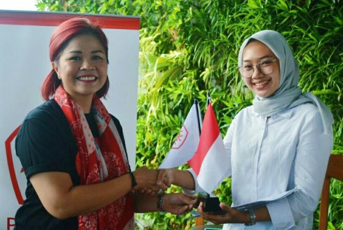 Syifa, Ketua PERHUMAS Muda Jakarta Raya