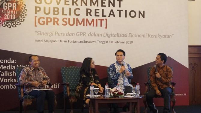 Pranata Humas Kumpul di GPR Summit