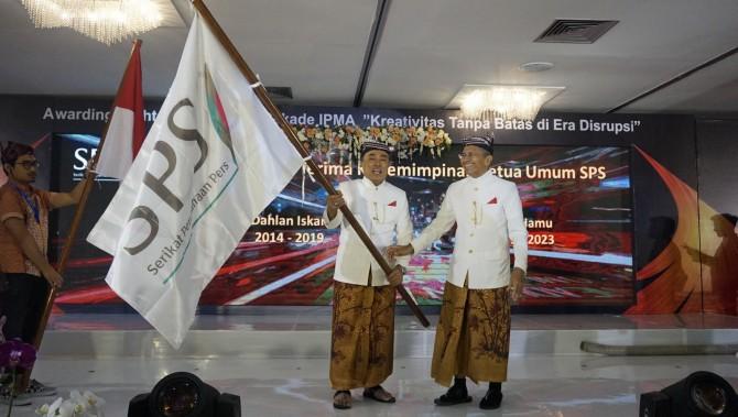 Alwi Hamu Gantikan Dahlan Iskan sebagai Ketua Umum SPS