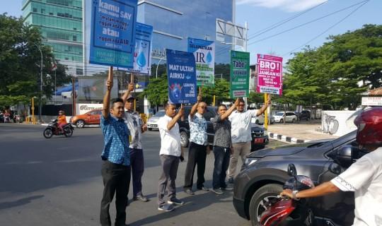 Peringati Hari Air Sedunia, PDAM Makassar Gelar Demo Informasi