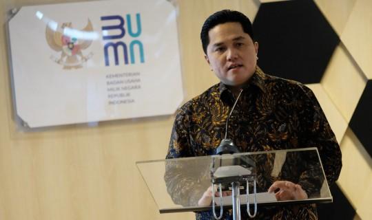 SOE Minister Erick Thohir: