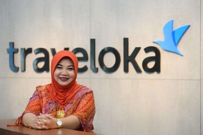 Sufintri Rahayu, Traveloka: PR Semakin Efisien dan Efektif