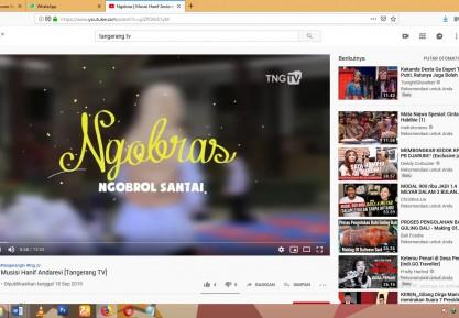 """Ngobras, Gaya Pemkot Tangerang """"Ngobrol"""" Bareng Warga"""
