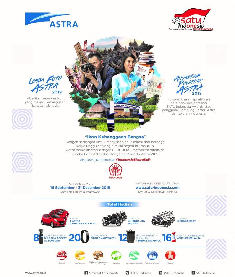 Astra x Perhumas Hadirkan Lomba Foto Astra & Anugerah Pewarta Astra 2019
