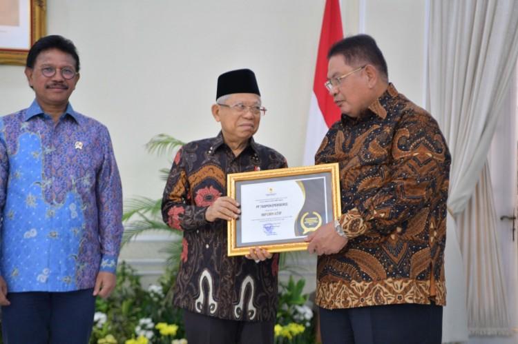 TASPEN Raih Penghargaan sebagai Badan Publik Informatif