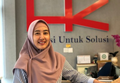 Intan Zania Nasrun, VP Corporate Communication Hutama Karya: Semakin Tertantang