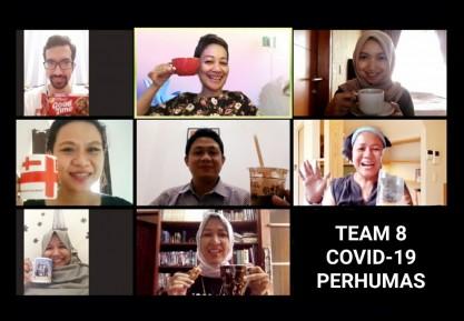 Tim 8 Covid-19 PERHUMAS Bantu Gugus Tugas DKI Jakarta Susun Strategi Komunikasi