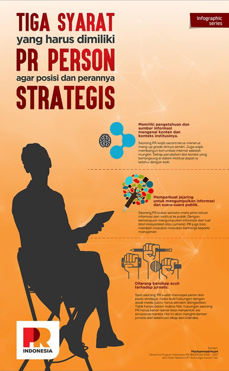 Tiga Syarat yang Harus Dimiliki PR Person Agar Posisi dan Perannya Strategis