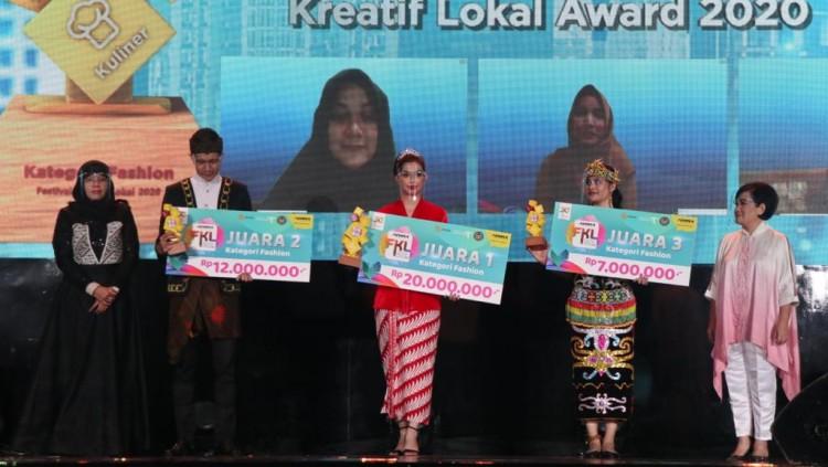 18 UKM Raih Penghargaan di Ajang Festival Kreatif Lokal 2020
