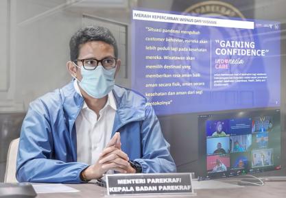 Menteri Sandi Butuh Bantuan, Bangun Ekosistem Komunikasi di Industri Parekraf