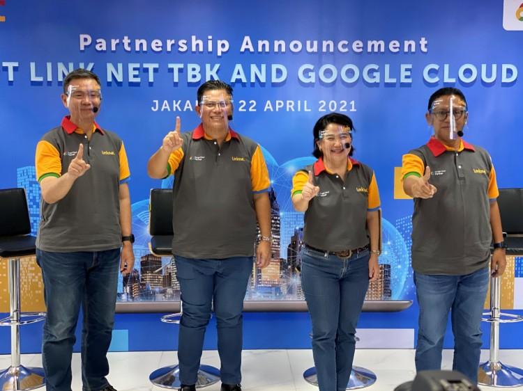 Link Net Gandeng Google, Dukung Percepatan Transformasi Digital