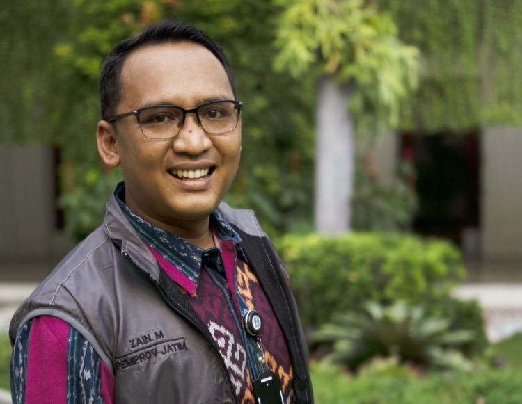 Zainal Muttaqin, Pemkot Jatim: Pesan adalah Raja